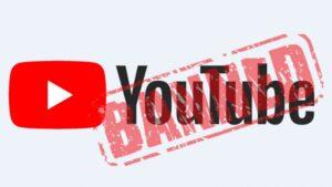 youtubeにアクセスできない画面