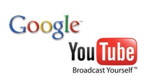 Google、YouTubeのアイコン