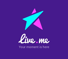 livemeのロゴ